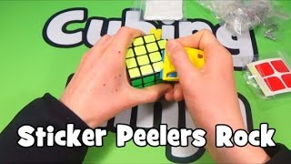 Gambar cover TheCubicle.us Unboxing + Why Sticker Peelers Rock [Cubing Ninja]