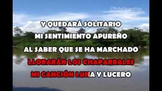 Karaoke Reyna Lucero - Sentimiento Apureño