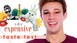 Cameron Dallas' Spit-Take Is Everything 💦 | Expensive Taste Test | Cosmopolitan