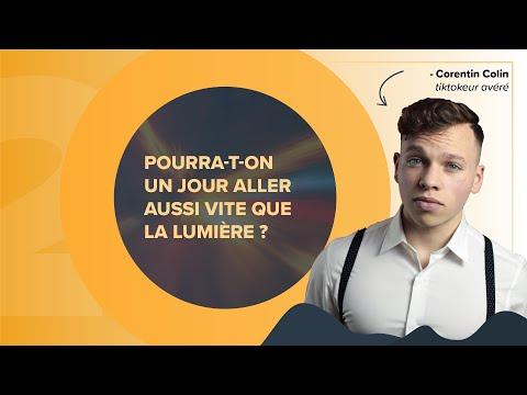 Corentin Colin lancé à la vitesse de la lumière ! | Futura