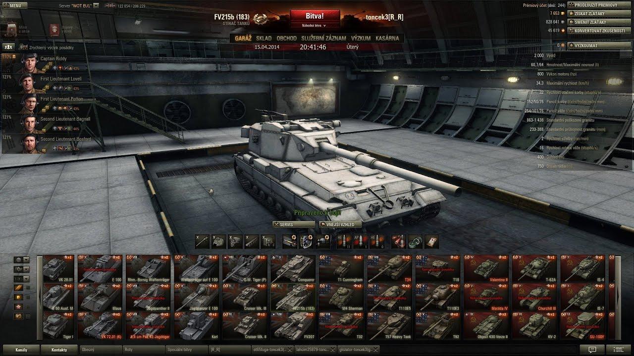 Download World of Tanks CZ - FV215b (183)