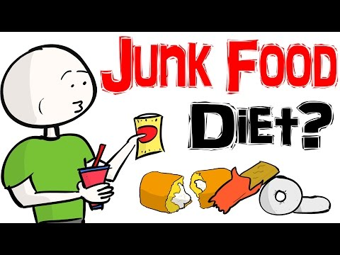 Lose Weight Eating Nothing But Junk Food?