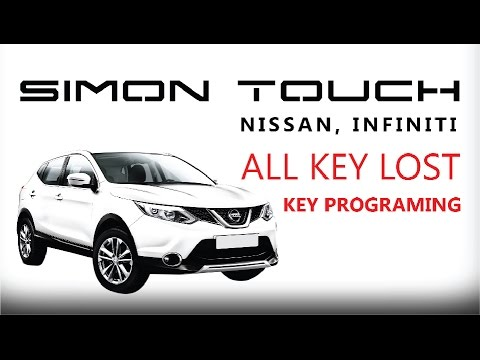 Start Nissan Infiniti All Key Lost Youtube