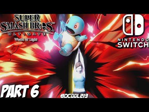Super Smash Bros. Ultimate World of Light Gameplay Walkthrough Part 6 - Nintendo Switch Lets Play thumbnail