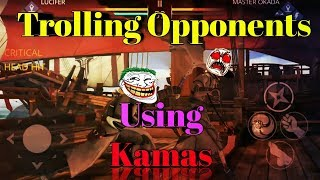 Shadow Fight 3 : Trolling Opponents Using Kamas