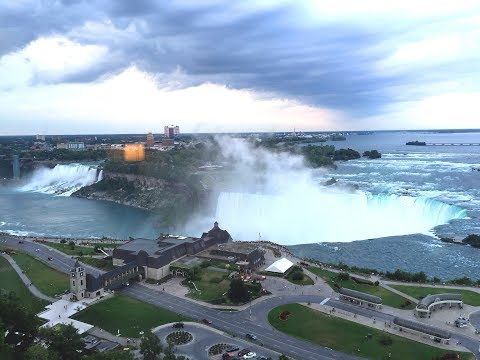 Niagara Falls Marriott Fallsview Hotel & Spa  Grounds & Fallsview Room Walkthrough