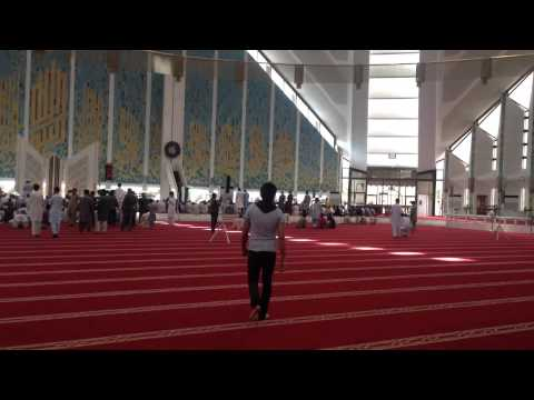 Inside Faisal Masjid Pakistan