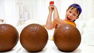Макс и история про шоколадный футбольный мяч