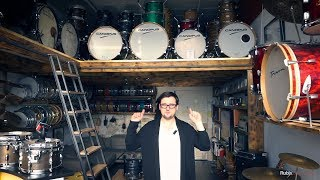 Rubix Drum Studios Tour - Everything You Need Under One Roof!