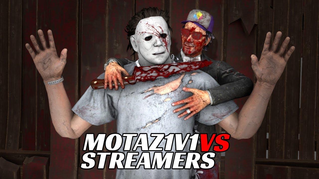 |DeadByDaylight|🔥motaz1v1 VS Streamers🔥Myers Slayer|