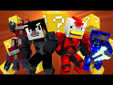 Lucky Block Challenge Animated! (Minecraft Animation)