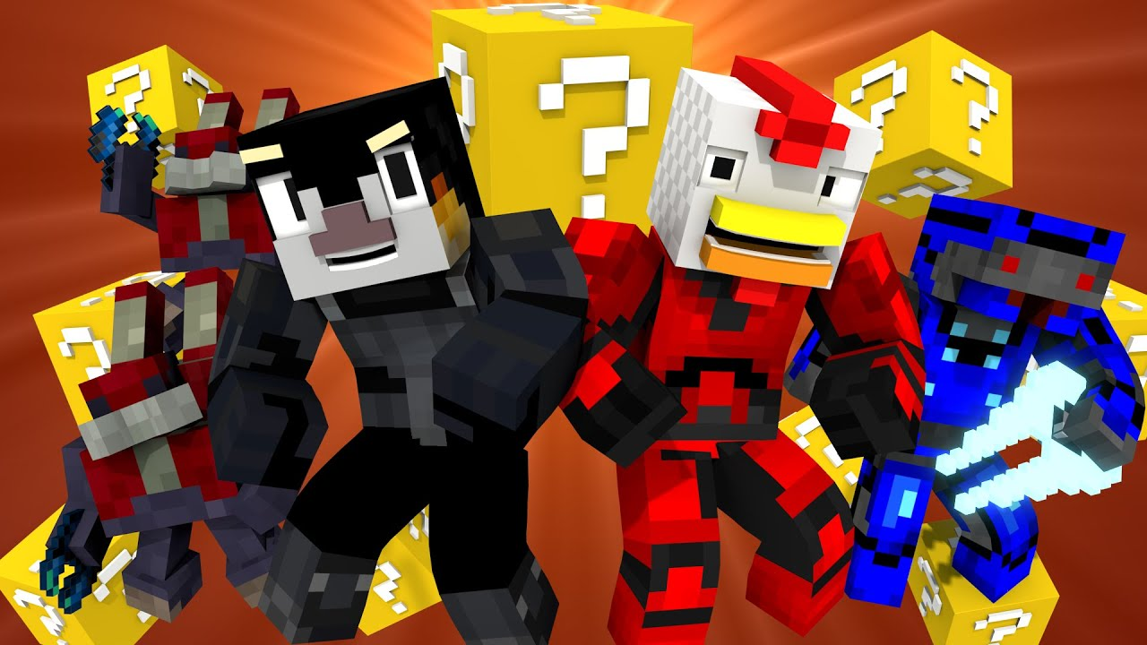 Lucky block challenge animated minecraft animation for The atlantic craft minecraft