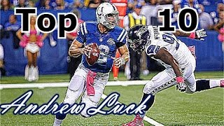 Andrew Luck Top 10 Plays of Career