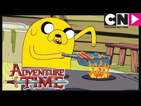 Adventure Time  Bacon Pancakes Song  Burning Low  Cartoon Network