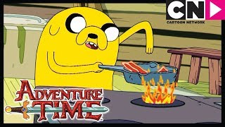Adventure Time | Bacon Pancakes Song | Burning Low | Cartoon Network