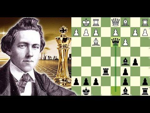 É hora de Morphar! | Louis Paulsen vs Paul Morphy (1857)