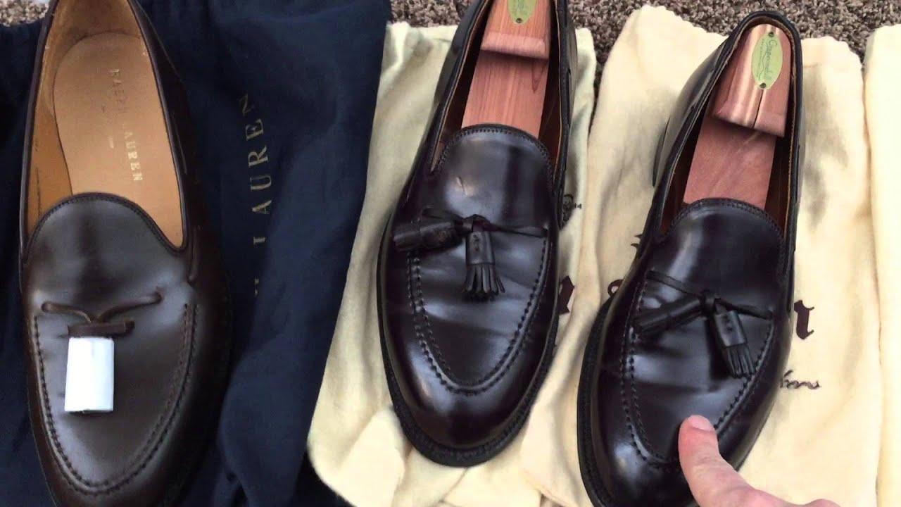 b85262a3442 Alden vs Crockett and Jones - Tassel Loafers - YouTube