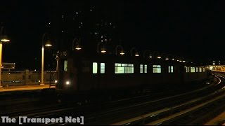 NYC Subway: IRT R33 / R127 Refuse Train depart West Farms Square