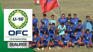 OFC U-16 CHAMPIONSHIP QUALIFIER | Tonga vs Samoa Highlights