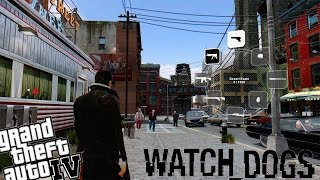 Grand Theft Auto 4 - Full Watch_Dogs Mod