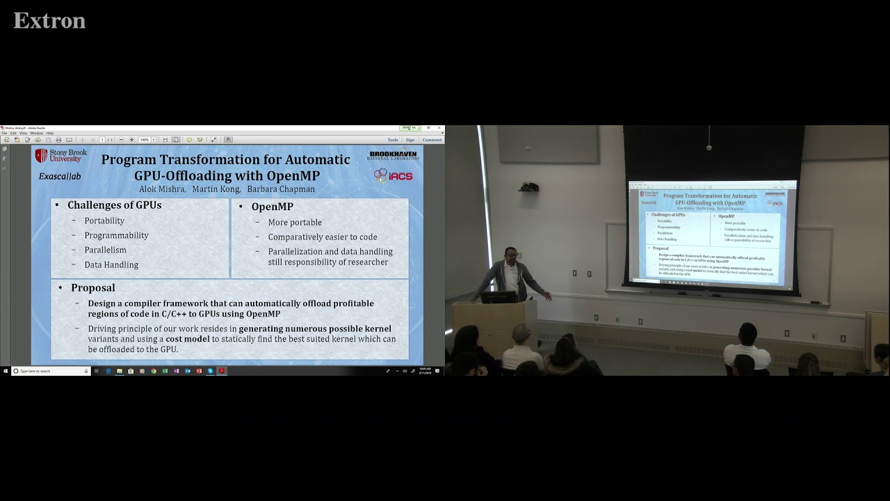 IACS: Alok Mishra 2019 Lightning Talk