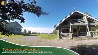 Naapurivaaran Lomakeskus - Monipuolinen majoituskohde Vuokatissa järven rannalla.