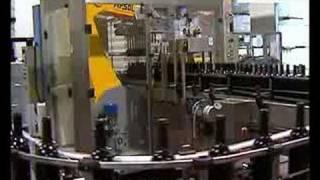 Линия упаковки стеклобутылок в короба (ООО