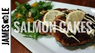 SALMON CAKES Recipe Using Canned Salmon - AFFORDABLE Meal
