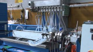 PA THERMAL BREAKING PROFILES EXTRUSION LINE