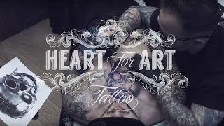 Welcome to Heart for Art Tattoo Studio