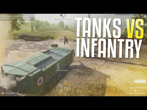 Tanks vs. Infantry (Battlefield 1: They Shall Not Pass DLC)