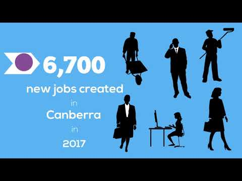 Canberra's remarkable job creation during 2017