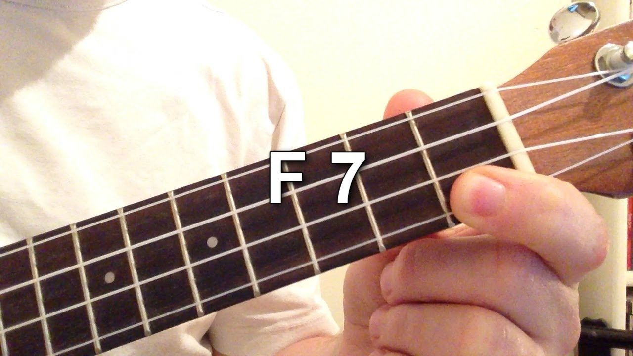 How to play f 7 chord on the ukulele youtube how to play f 7 chord on the ukulele hexwebz Images