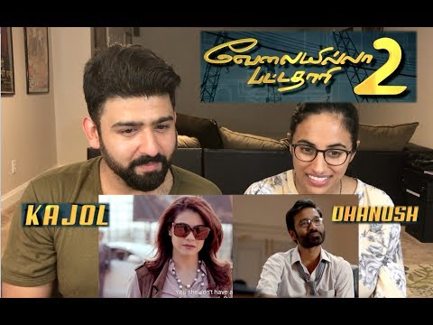 VIP 2 Trailer Reaction | Dhanush, Kajol |Tamil Film Reaction | By RajDeep