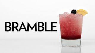 Bramble: One of the most famous cocktails of the modern era