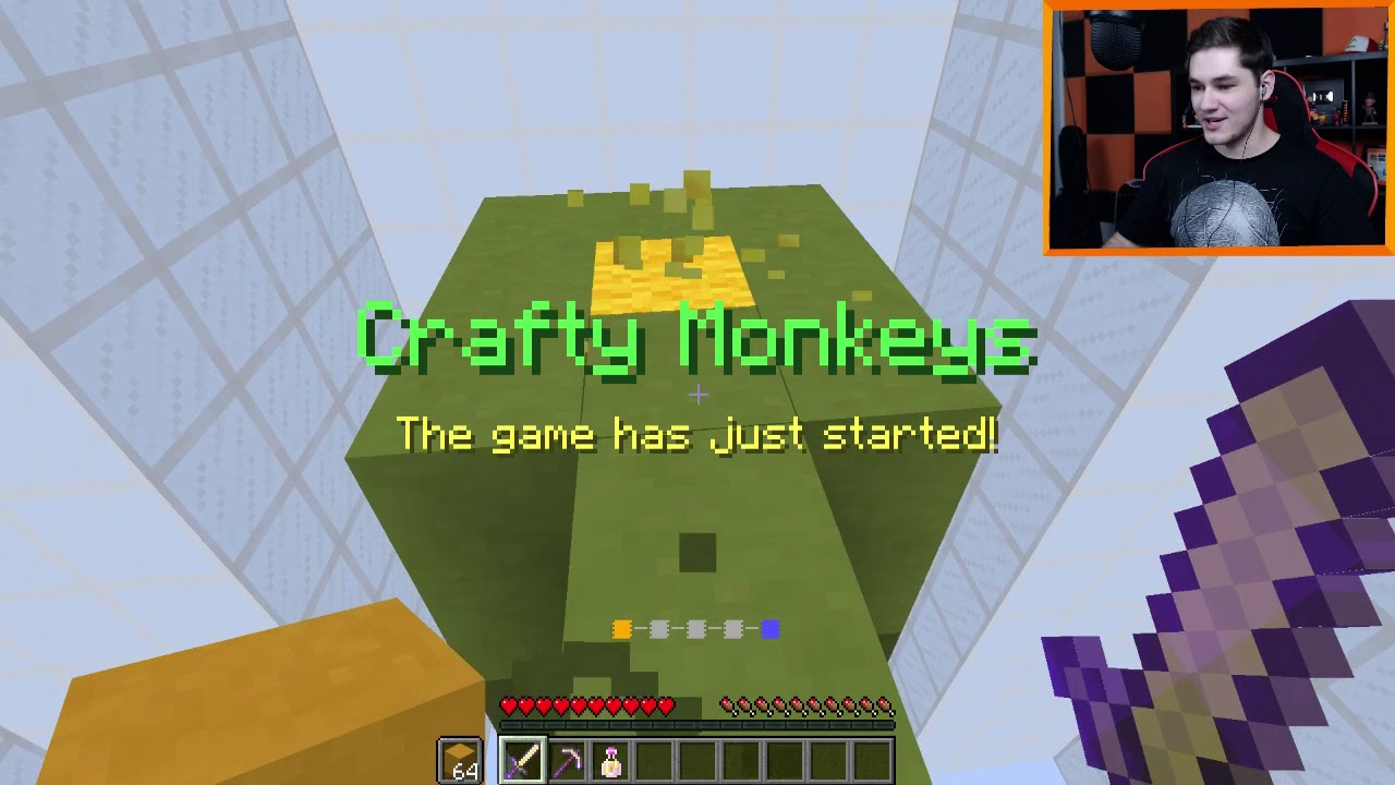 Crafty Monkeys! 1vs1 z Akiri! :D