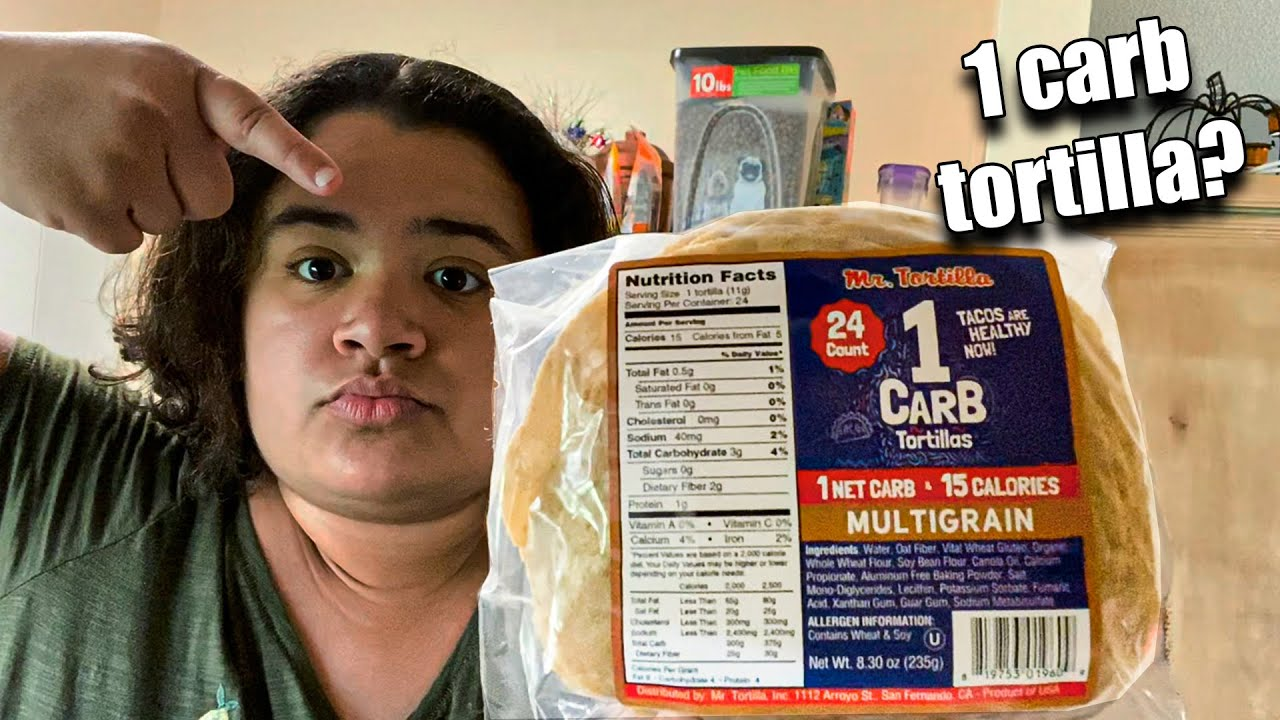 1 CARB Tortilla from MR.TORTILLA - Unboxing & Review - YouTube