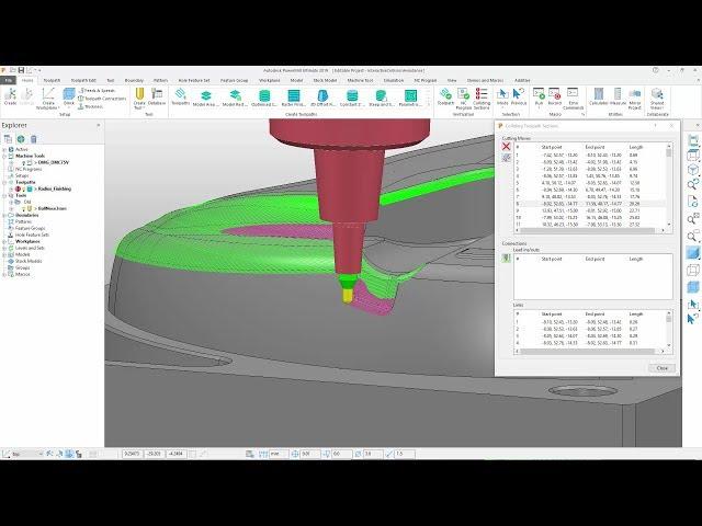 Interactive Collision Avoidance - PowerMill 2019.1 Update