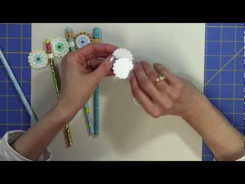 How to Make Quick and Easy Pencil Toppers
