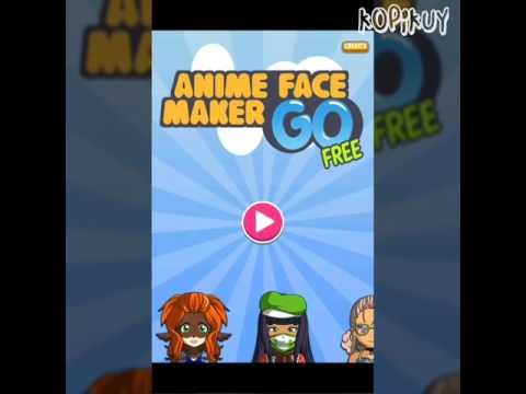 ANIME FACE MAKER GO (Membuat manga dengan aplikasi)