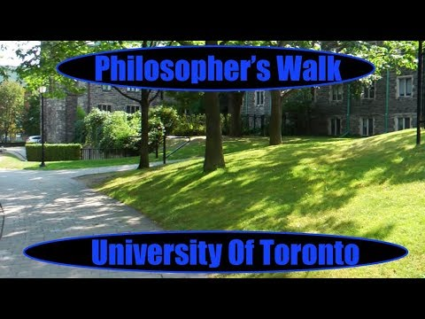 Philosopher's Walk - University Of Toronto