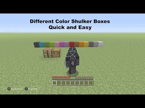 how to make dye in minecraft xbox one