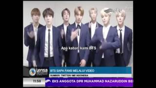 Download Video BTS Sapa Fans dengan Bahasa Indonesia [ LENSA INDONESIA SIANG RTV 04 APRIL  2017 ] MP3 3GP MP4