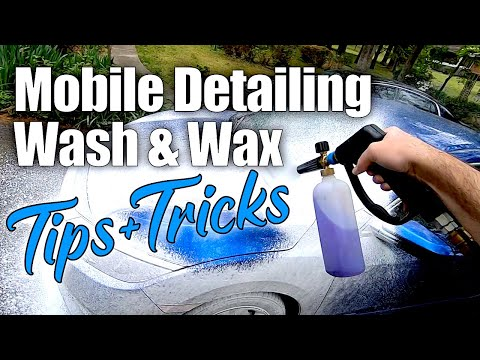 How We Wash A Car On Our Mobile Detailing Jobs // #Mobile Detailing