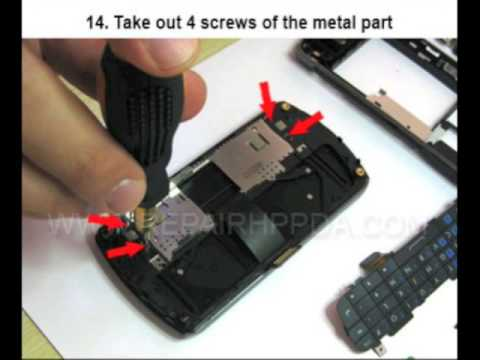 Self Repair for HP iPAQ Data Messenger