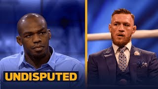 Jon Jones calls himself the greatest fighter in UFC history, talks McGregor/Mayweather | UNDISPUTED