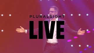 Pluralsight LIVE 2018 mainstage: Aaron Skonnard, Pluralsight CEO