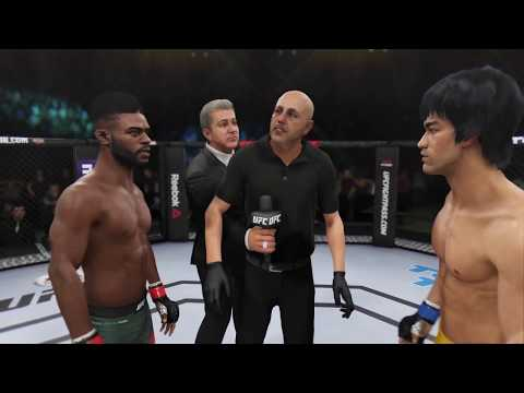 Bruce Lee vs. Aljamain Sterling (EA Sports UFC 3) - CPU vs. CPU