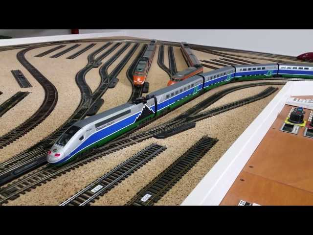 Customized Mehano TGV Duplex 8pcs set into Cascadia Pacific - 2