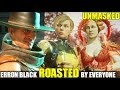 Who Roasts & Insults An Unmasked Erron Black the Best? (Relationship Banter Intro Dialogues) MK 11